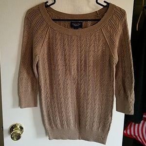 AE Comfy Tan Sweater NWOT